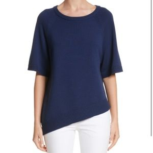 Michael Kors Asymmetrical Cashmere Pullover